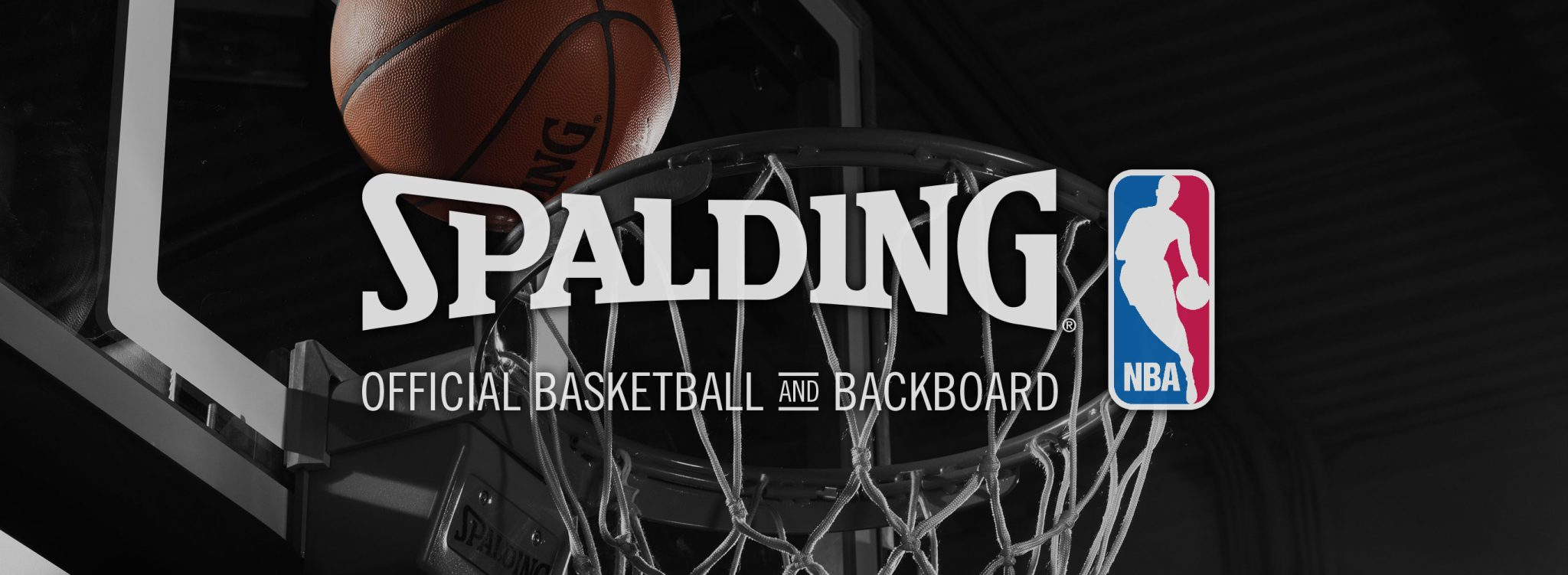 spalding home nba banner